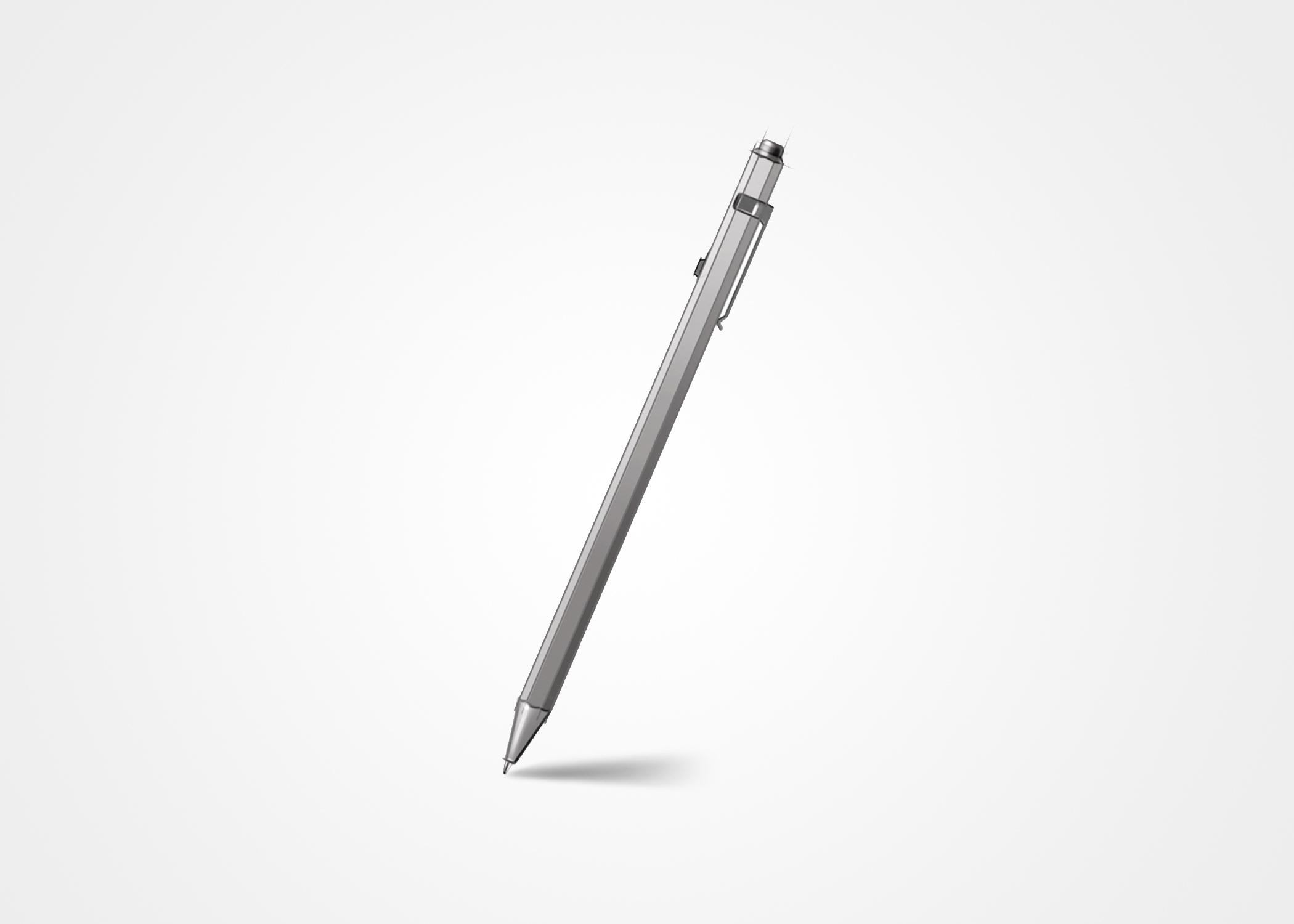 New ballpoint pen design for Monami
