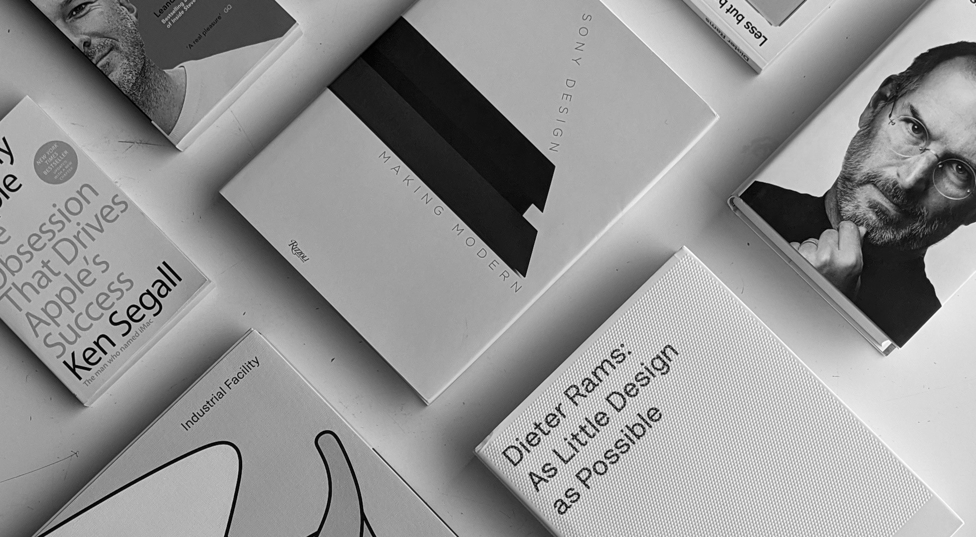 Product Design Companies (and interesting design books about them)